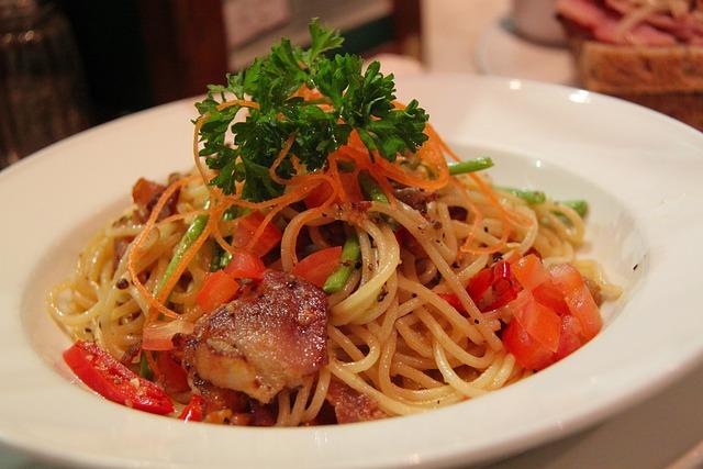 Spaghetti pasta italian free photo on pixabay - Italian cuisine pasta ...