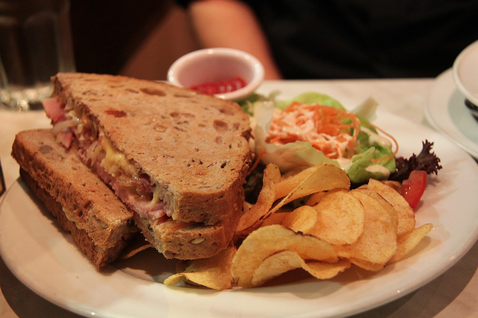 Grilling a Great Reuben Sandwich