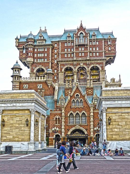 日本 東京 アーキテクチャ 建物 ディズニー ・ シー 観光 色 観光客 休日 旅行 休暇