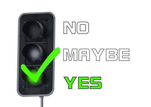 はい, 同意, 信号, 赤, オレンジ, 緑, むしゃくしゃ, ボックス
