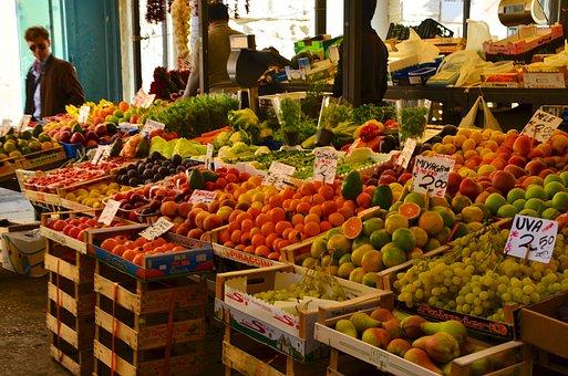 Mercado De Frutas Italia Venecia