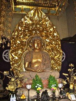 日本, 黄金の仏像, 宗教