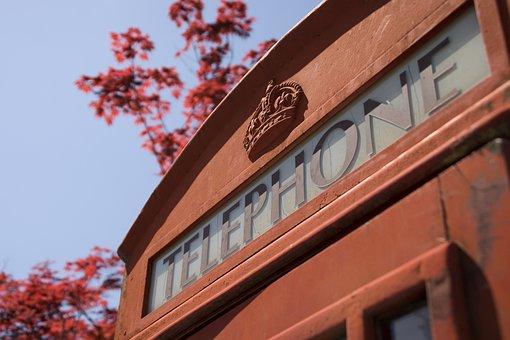 Phone Box, Telephone Booth, England