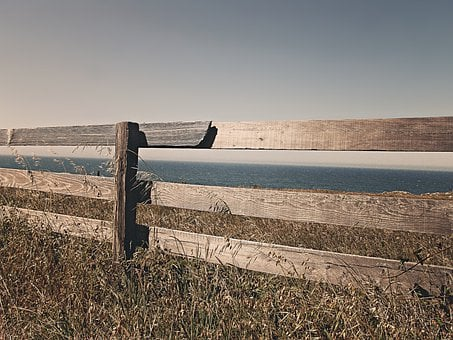 Fence, Wooden, Border, Territory