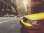 taksówka, kabiny, taksówki