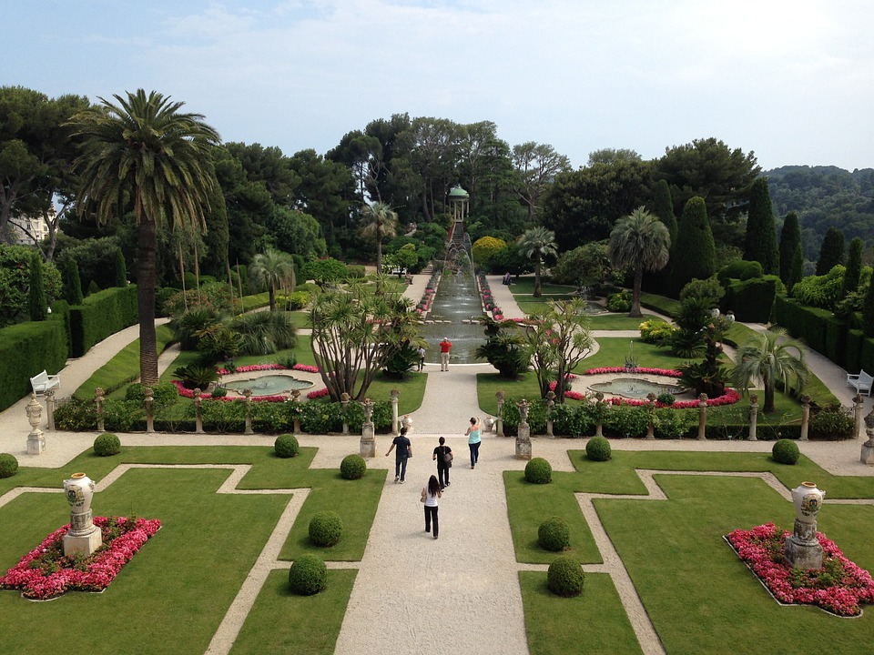 Villa Rothschild, Nice, France, Garden, Park