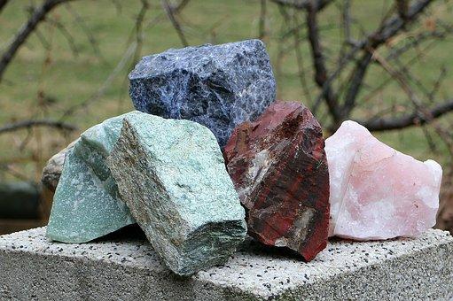 Minerální, Minerály, Kameny