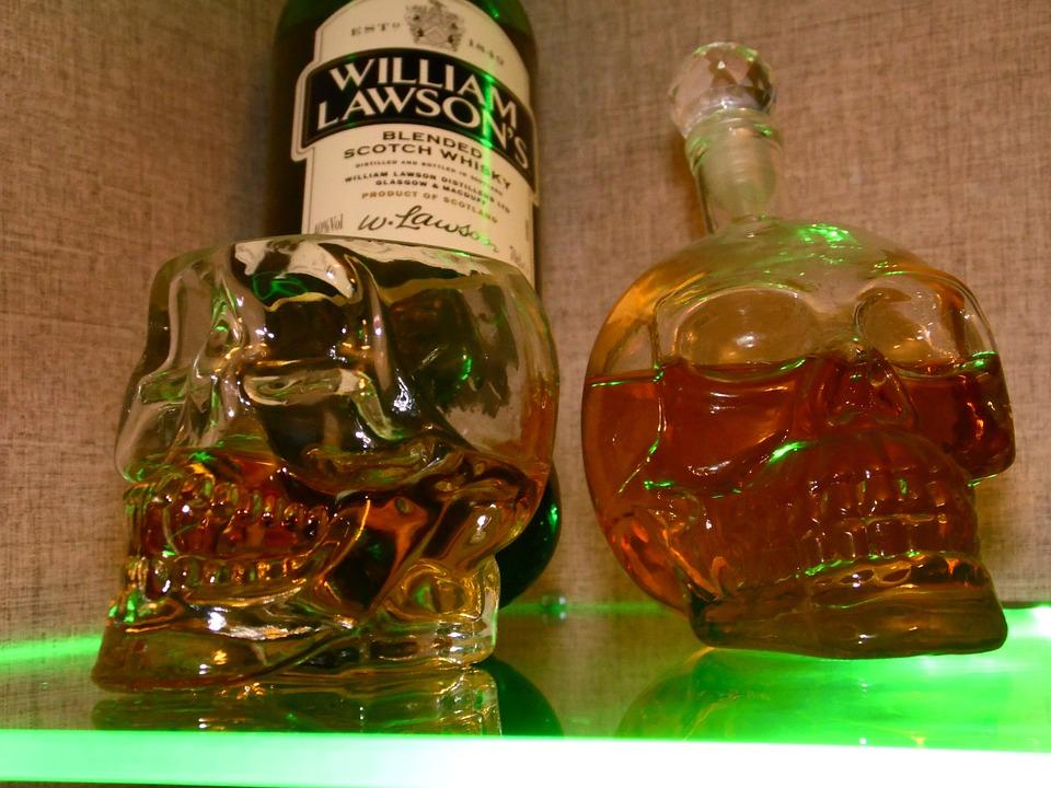 баночка из под виски фото фото