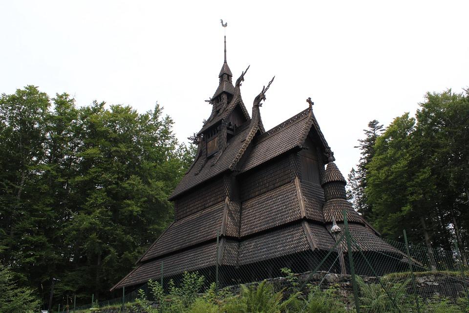vikings castle norway  u00b7 free photo on pixabay