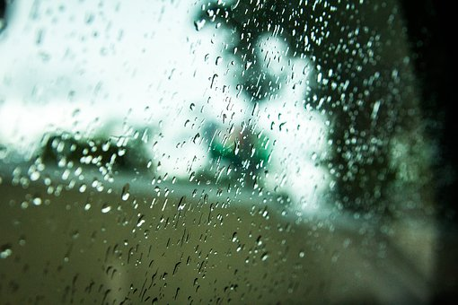 Rain, Water, Window, Glass, Waterdrops
