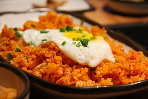 Kimchi Fried Rice Fried Rice Rice Korean F