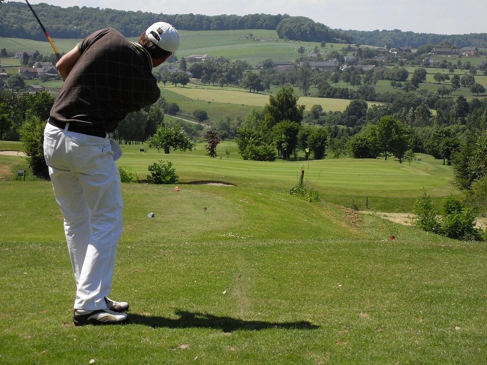 Golf, Paysage, Sport