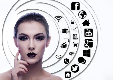 Woman, Face, Head, Question Mark, Circle