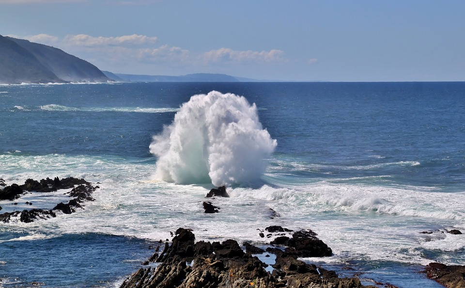 Ocean, Sea, Waves, Sea Foam, Coast, Splash, Ocean Foam