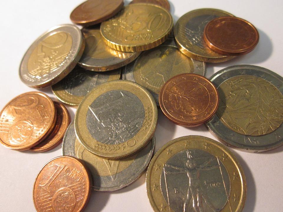 kostenloses foto kleingeld euro m252nzen kostenloses