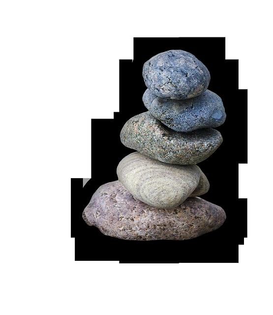 Free Illustration Balance Meditation Stones Tower