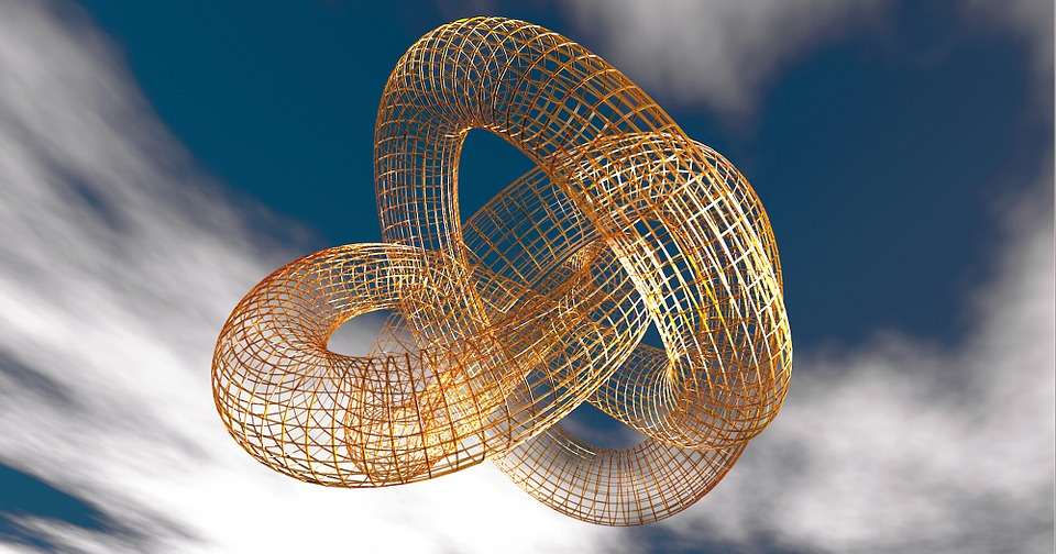 Knot, Fixing, Connection, Torus, Moebius, 3D, Wire Mesh