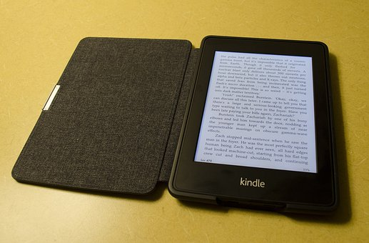 Kindle, Amazon, Ebook, Reader, E-Book