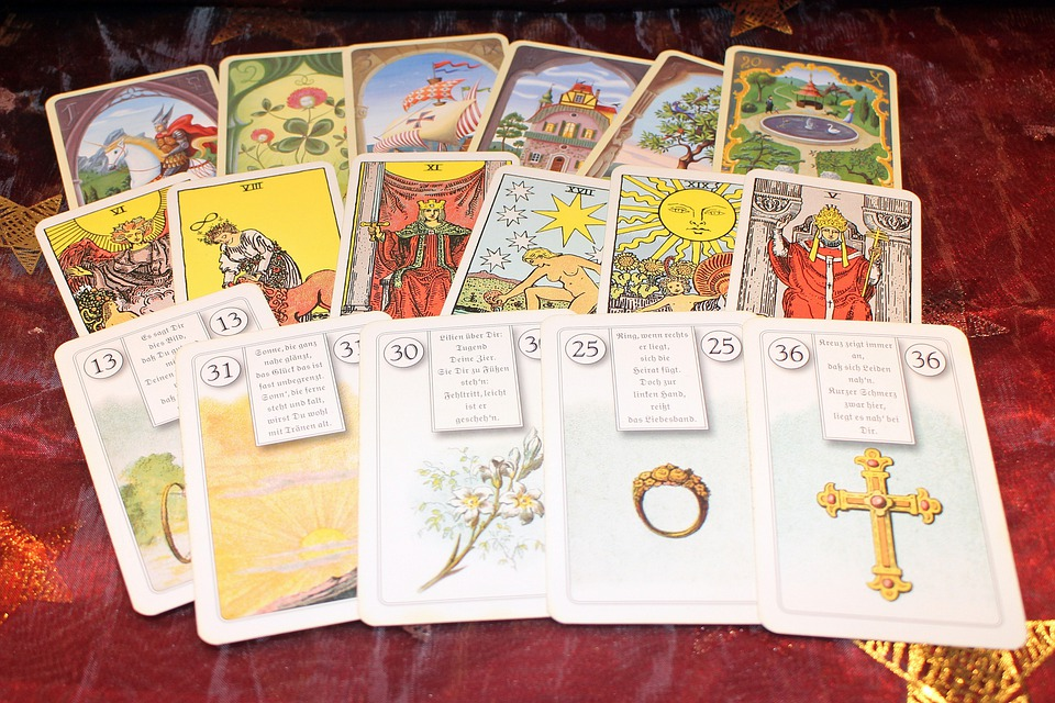 New Age, Fortune Telling, Cards, Playing Cards, Oracle