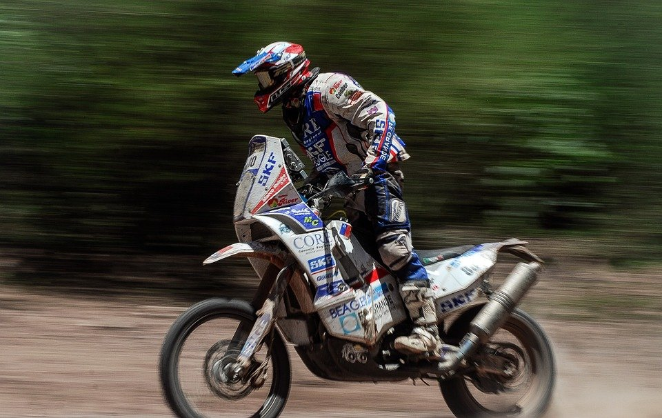 Moto Cross Dakar · Photo Gratuite Sur Pixabay