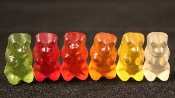 Gummibärchen, Gummi Bears, Sweetness