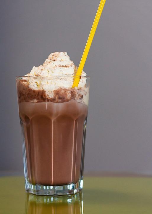 Kostenloses Foto Eisschokolade Getr 228 Nk Trinken