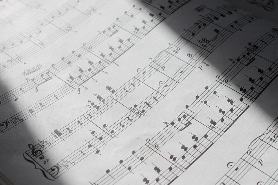 Classical Music Notes Mozart Sheet