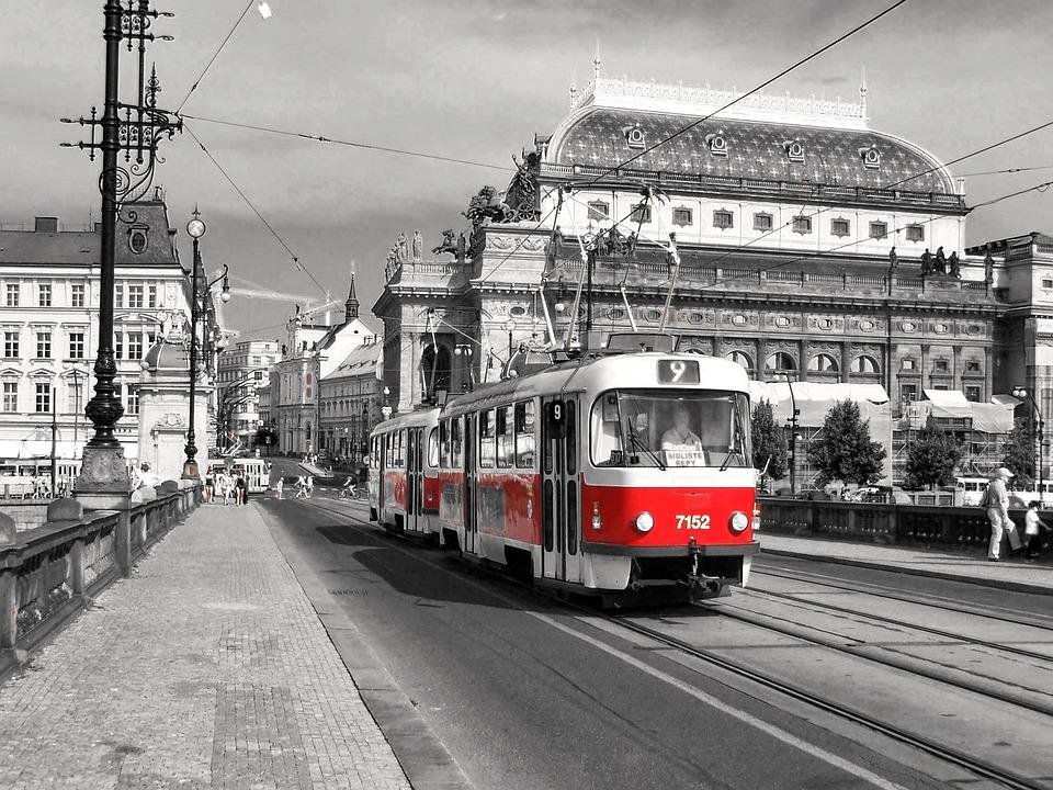 プラハのトラム