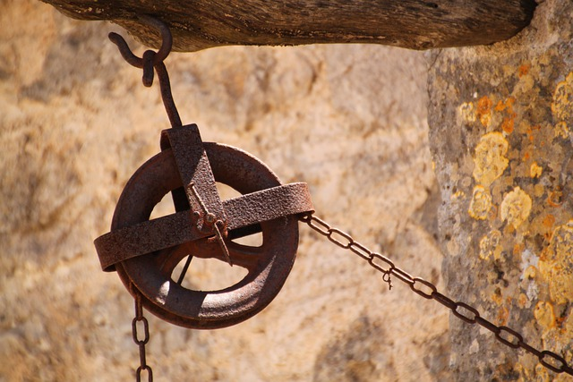 Free Photo Thread Chain Hoist Wheel Role Free Image