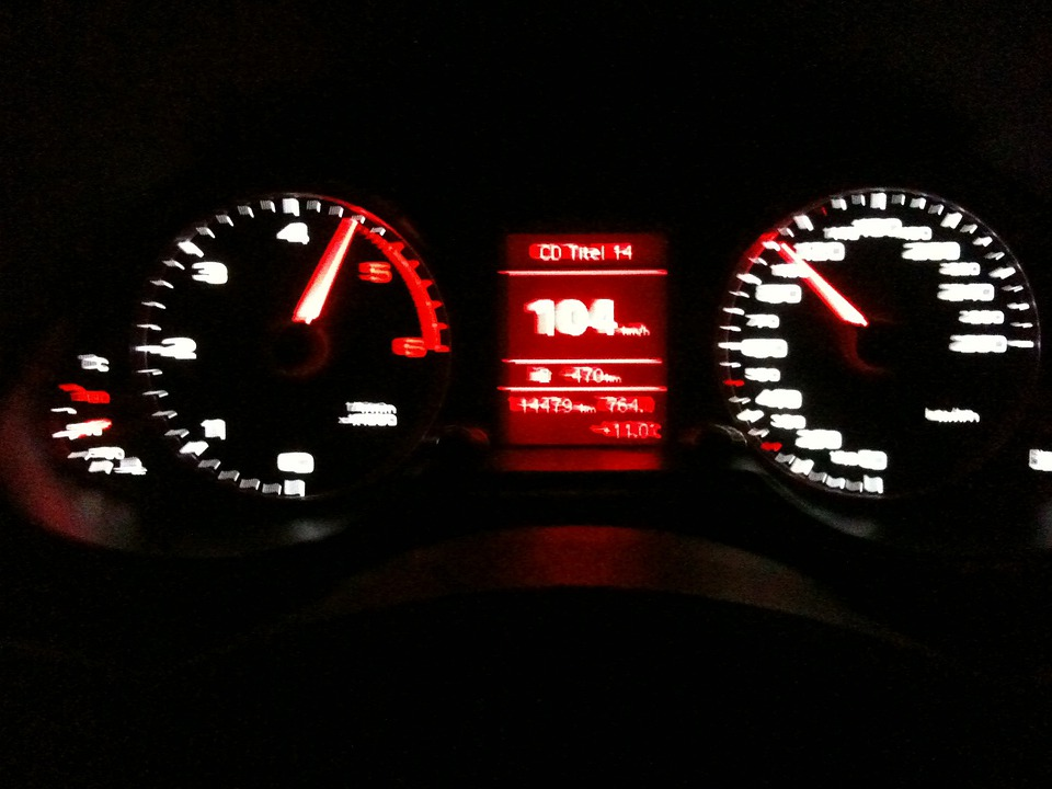 Young Night Drive Highway Bad ...