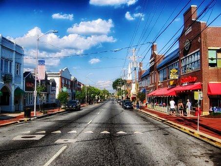 Newark, Delaware, Town, Street