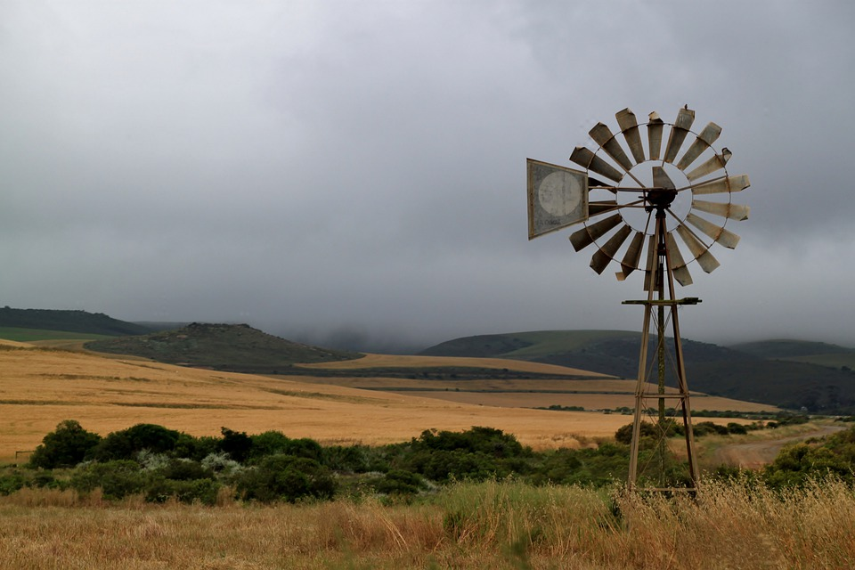 Windrad, Windmühle, Energie, Windkraft, Himmel, Umwelt
