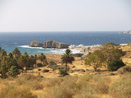 Qué ver qué hacer en Almería, Panorámica Isleta del Moro, Cabo de Gata, Nijar