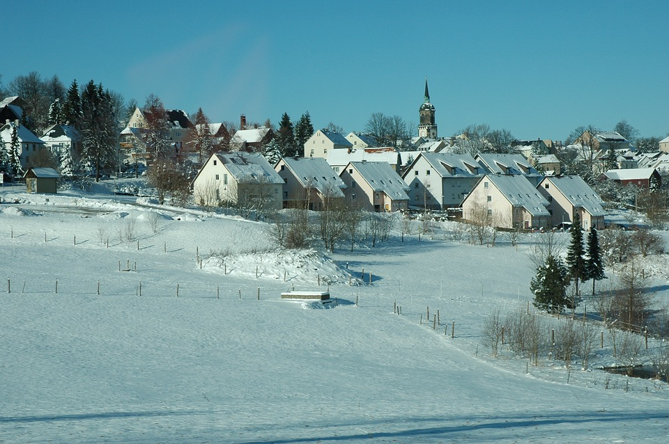 Steinbach (Germany/ Erzgebirge/ 09477) 16.12.2010 - Winter - YouTube