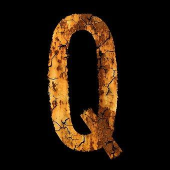 Letter, Rust, Font, Module, Q