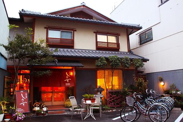 free photo ryokan traditional japanese house free. Black Bedroom Furniture Sets. Home Design Ideas