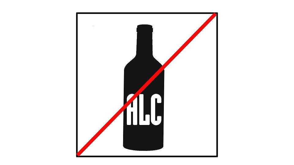 Запрет, Алкоголь, Расположение, Щит