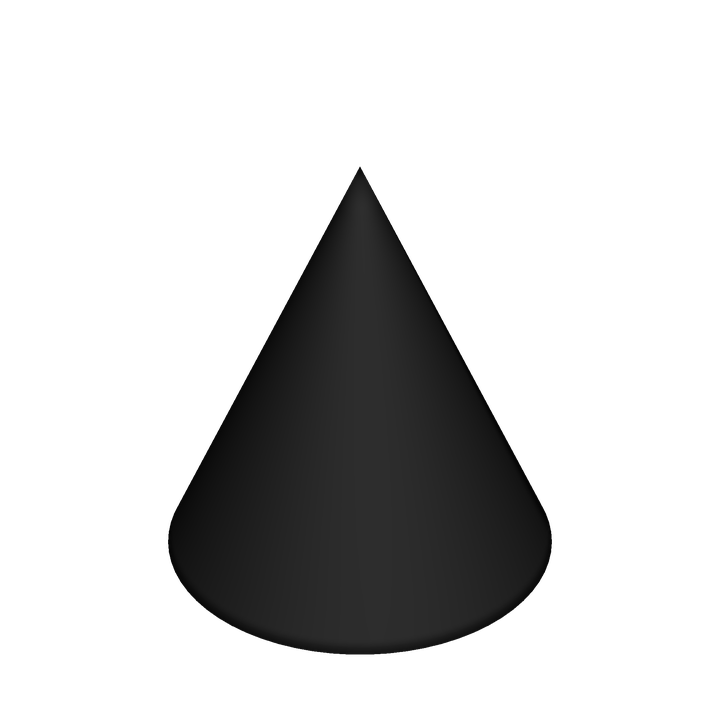 Types Of Cone Shapes: Cone Cone-Shaped Shape · Free Image On Pixabay