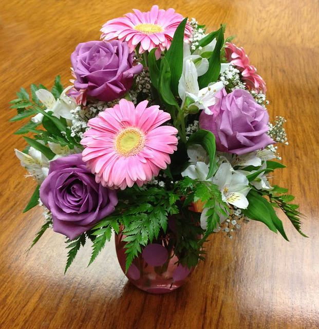 Bouquet Rose Gerber Daisy  U00b7 Free Photo On Pixabay