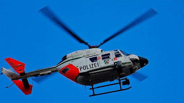 Free Photo: Helicopter, Fly, Sky, Police