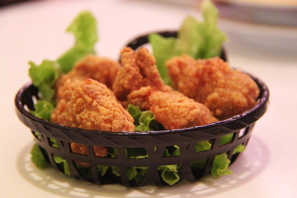 kylling stegt som and