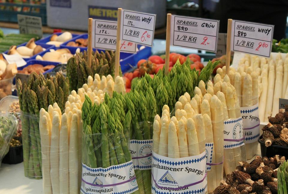 Markt, Gemüse, Grün, Kochen, Gesund, Lebensmittel