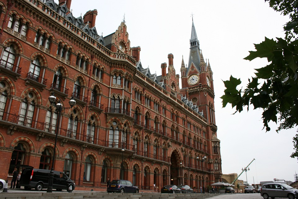 Image result for st pancras train station
