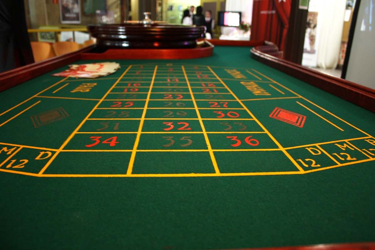casino game tables