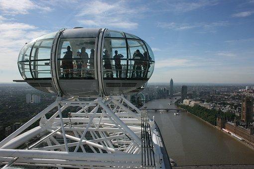 London Eye, Tamise, Londres