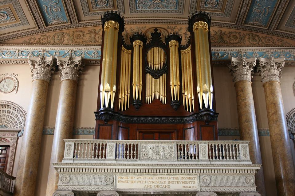 Organ Pipe Church · Free photo on Pixabay