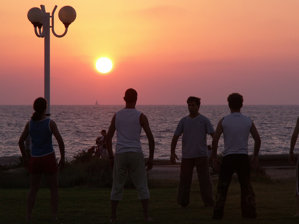 Playa, Mar, Puesta De Sol, Océano, El Agua, Cielo, Sol