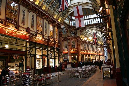 Leadenhall Market, London, Market