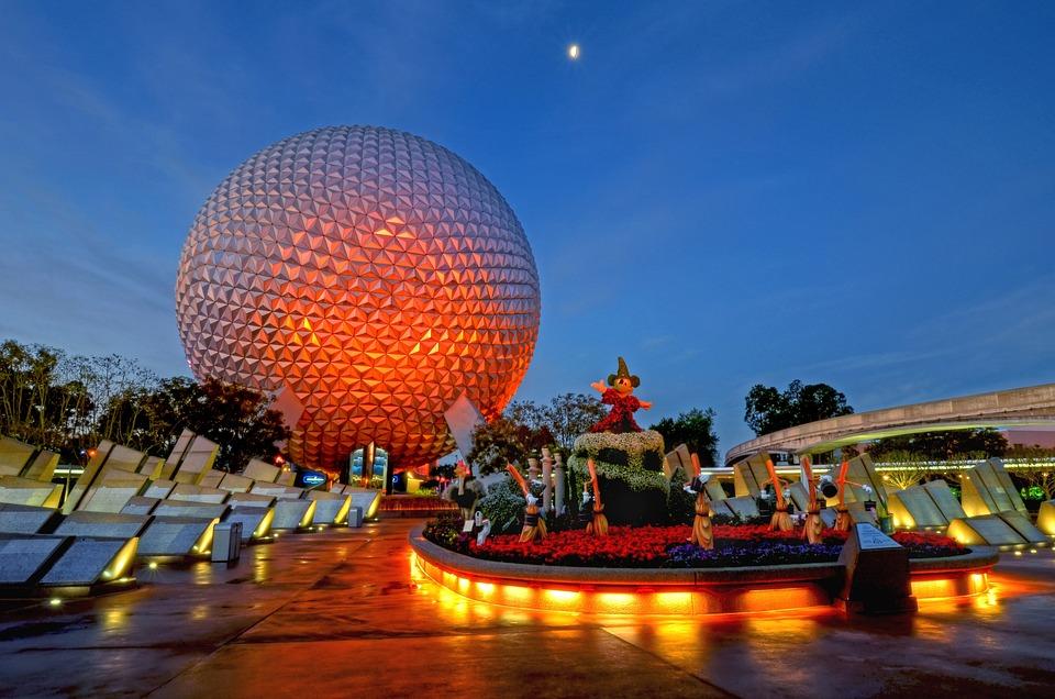 Epcot, Walt Disney World, Vacation, Sculpture, Monument