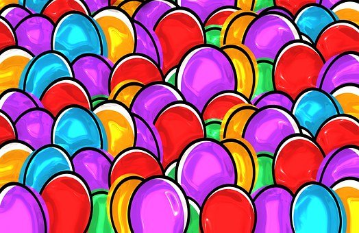 easter eggs easter paint painting